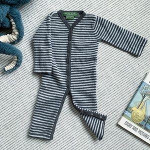 Amber Hagen 100% Cashmere baby onesie
